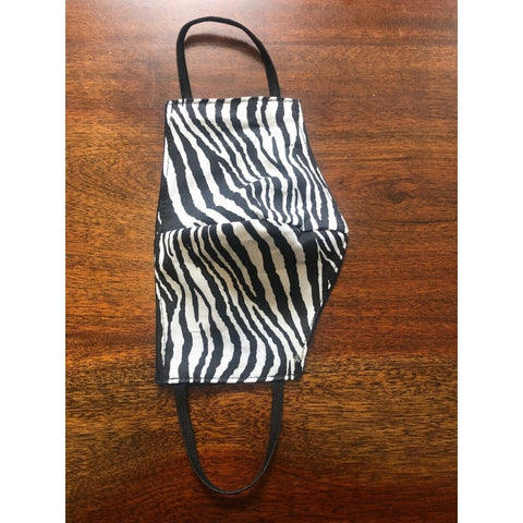 Zebra Print Cloth Face Mask