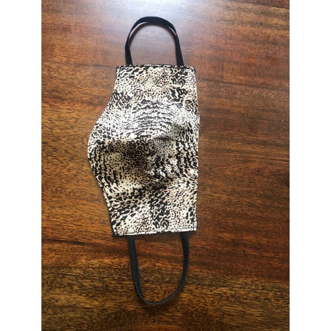 Snakeskin Print Cloth Face Mask
