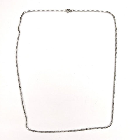 Polished Box Style Necklace Chain