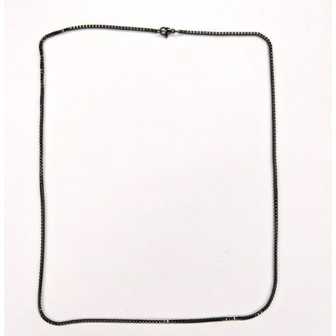 Black Box Style Necklace Chain