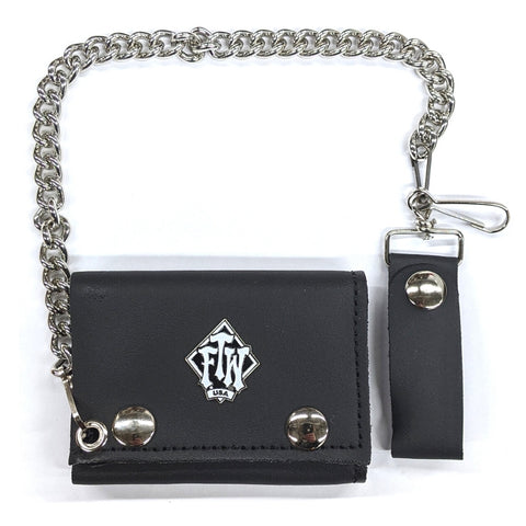 FTW USA Biker Wallet with Chain