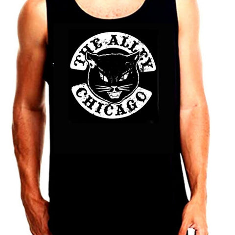 Black Cat Tank Top
