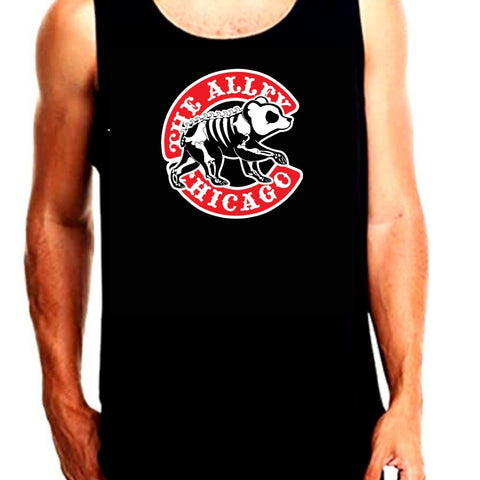 Chicago Baseball Parody Tank Top