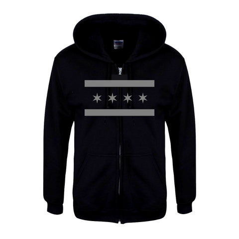 Tactical Chicago Flag Hoodie