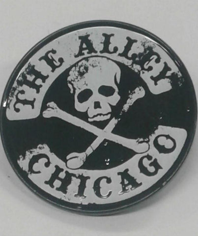 The Alley Vintage Skull Logo Hat Pin
