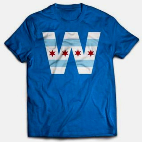 W Chicago Flag Tshirt