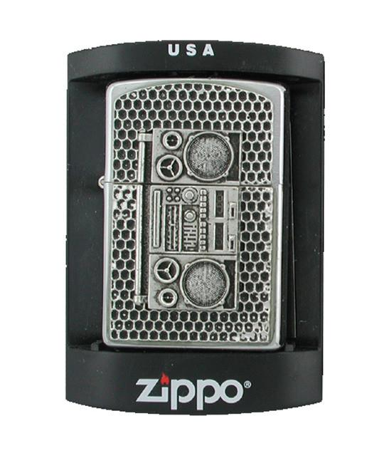 Mobtown Boom Box Zippo Lighter - The Alley Chicago