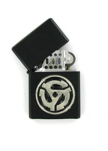 Accessories - 45 RPM Record Adaper Black Lighter