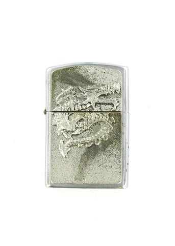 Accessories - Asian Dragon Full Body Chrome Lighter