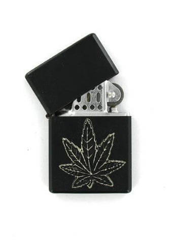 Accessories - Black Pot Leaf Black Lighter
