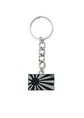 Accessories - Black Rising Sun Keychain