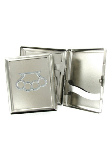 Accessories - Brass Knuckles Cigarette Or Accessory Case