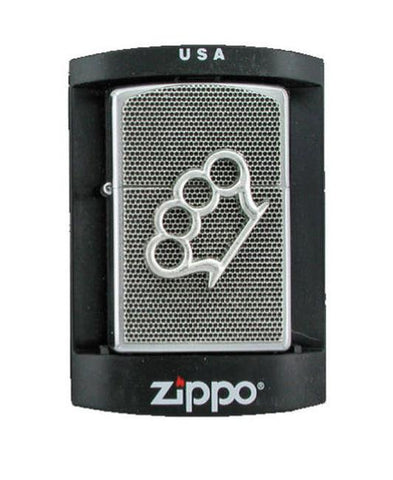 Accessories - Brass Knuckles Zippo Lighter