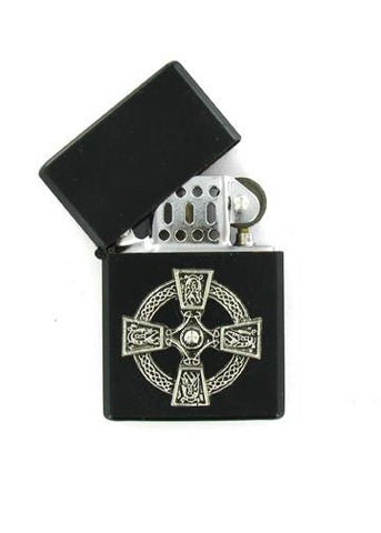 Accessories - Celtic Cross Black Lighter