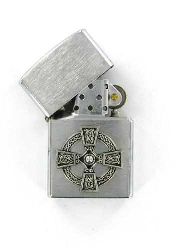 Accessories - Celtic Cross Chrome Lighter