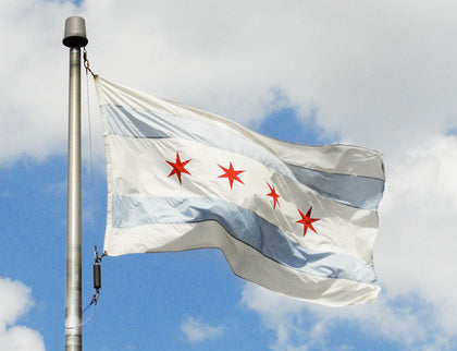 Accessories - Chicago Flag