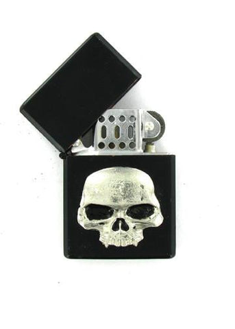 Accessories - Classic Vampire Skull Black Lighter