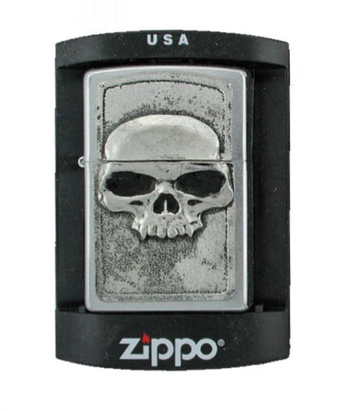 Accessories - Classic Vampire Skull Zippo Lighter