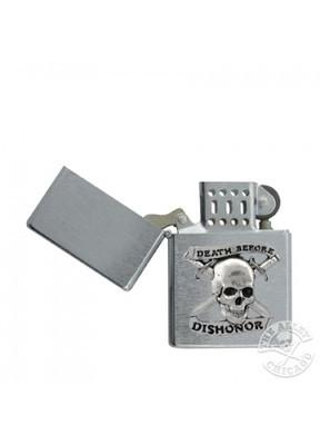Accessories - Death Before Dishonor Chrome Lighter