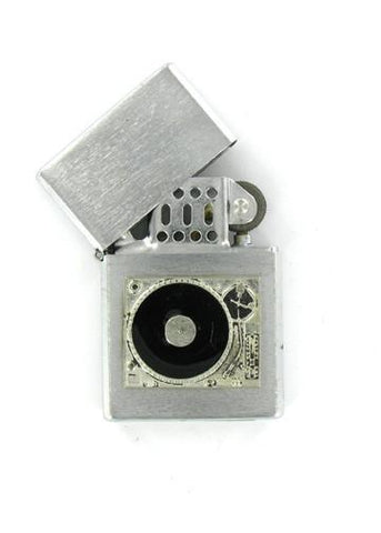 Accessories - DJ Turntable Record Player Chrome Lighter