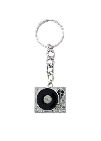 Accessories - DJ Turntable Record Player Keychain