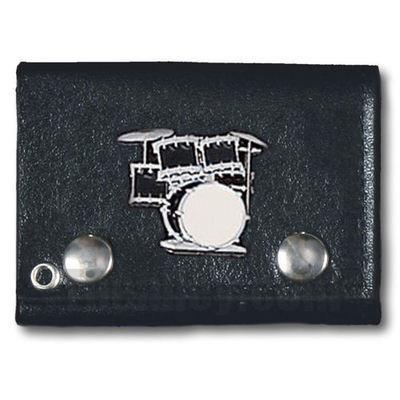 Accessories - Drum Kit Tri-fold Biker Wallet