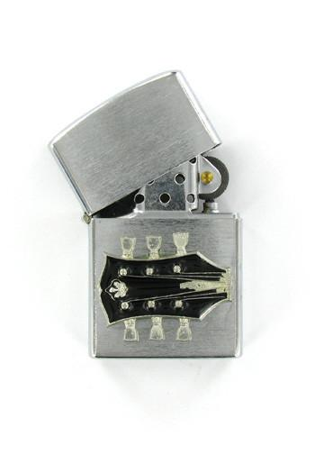 Accessories - Guitar Head Chrome Lighter