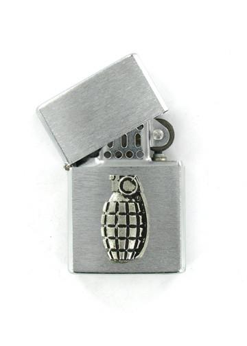 Accessories - Hand Grenade Chrome Lighter