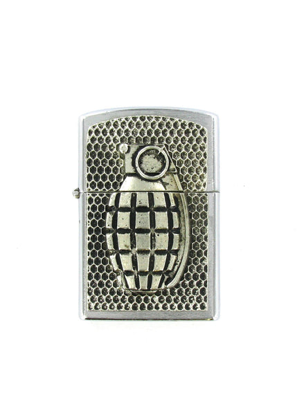 Accessories - Hand Grenade Full Body Chrome Lighter