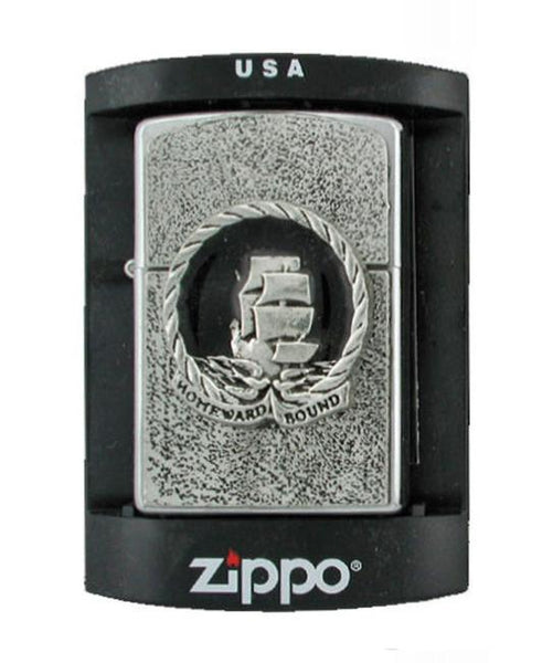 Accessories - Homeward Bound - Sailing Ship Zippo Lighter