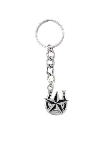 Accessories - Horseshoe And Nautical Star Keychain
