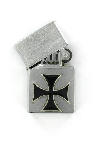 Accessories - Iron Cross Chrome Lighter