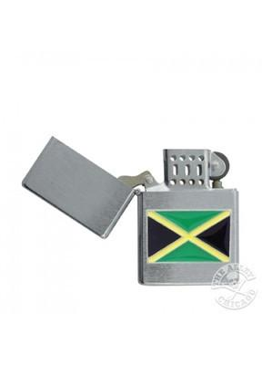 Accessories - Jamaica Flag Chrome Lighter