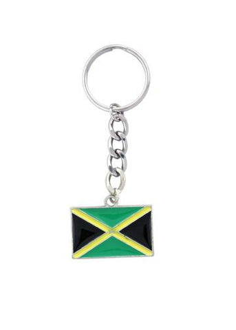 Accessories - Jamaican Flag Keychain