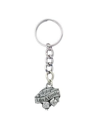 Accessories - Life's A Gamble Keychain