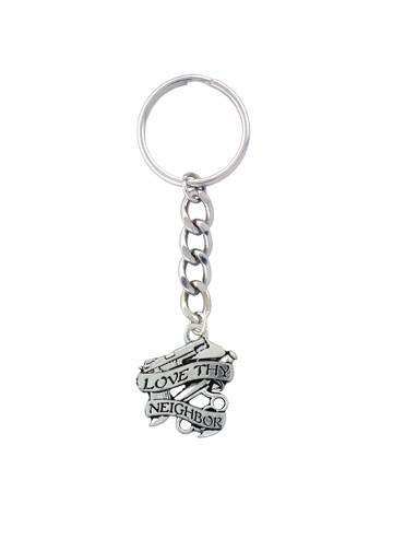 Accessories - Love Thy Neighbor Keychain