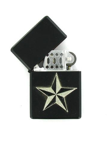 Accessories - Nautical Star Black Lighter