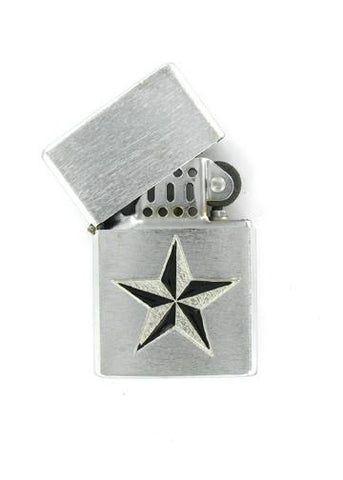 Accessories - Nautical Star Chrome Lighter