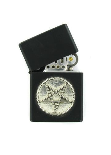 Accessories - Pentagram Black Lighter