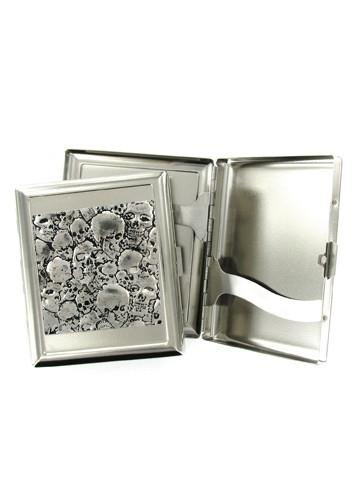 Accessories - Pile Of Skulls Cigarette Case