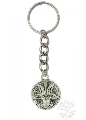 Accessories - Ram's Head Pentagram Keychain