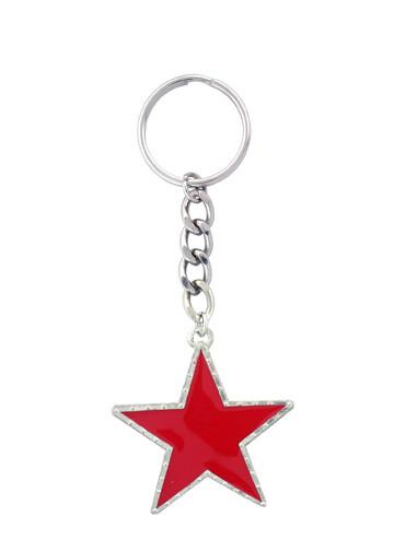 Accessories - Red Star Keychain