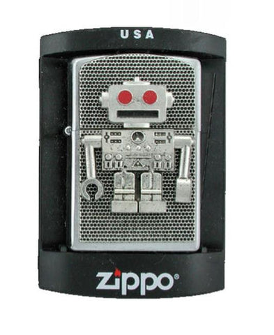 Accessories - Retro Robot Zippo Lighter