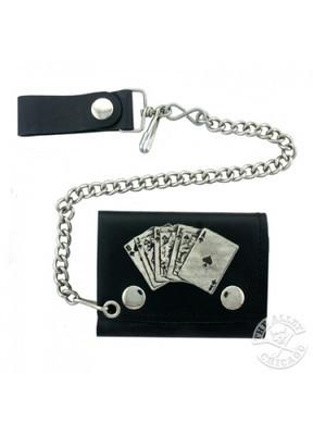 Accessories - Royal Flush Biker Wallet