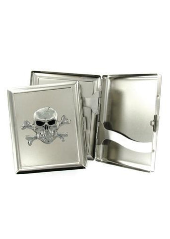 Accessories - Skull And Crossbones Cigarette Case