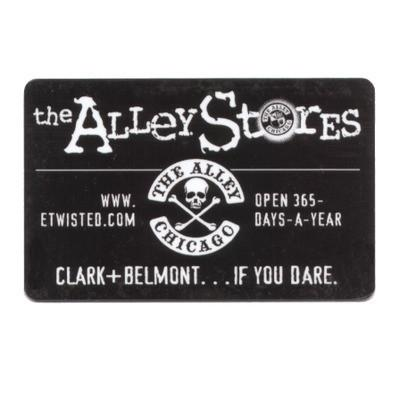 Accessories - The Alley Chicago In Store Gift Card
