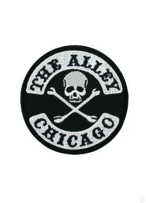Accessories - The Alley Chicago Skull And Crossbones Logo Patch
