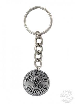 Accessories - The Alley Chicago Skull Logo Keychain