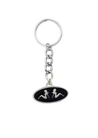 Accessories - Twin Trucker Mudflap Girls Keychain