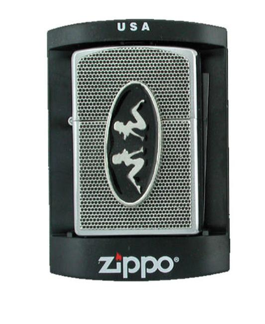 Accessories - Twin Trucker Mudflap Girls Zippo Lighter